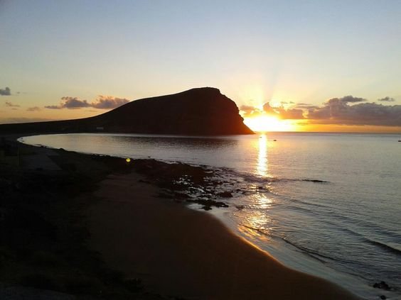 Amanecer Playa de La Tejita (Tenerife South):