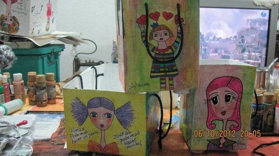 bolsas personalizadas en papel mache que hago en todos tamaños y colores
