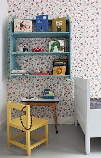leuk behang voor meisjeskamer Door elly81: