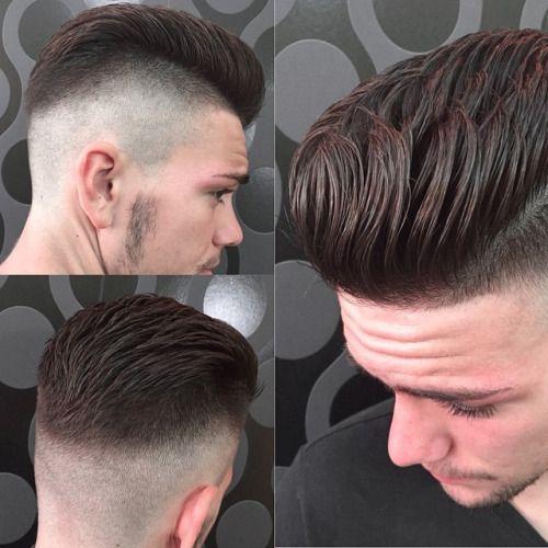 santanapeluqueros: Genial este estilo de corte que luce @victorcano23, si te gusta en @santanapeluqueros te ofrecemos este y muchos más para luzcas es Hogueras de Alicante 2015!! #santanapeluqueros #mipeinadodehogueras2015 #hoguerasdealicante #hoguerasdesanjuan #lucepeinado #fade #haircut #hairstyle #menshair #barbershop #cortedepelo #cortemasculino #SpainCountryWinner #AllStarChallenge #AmericanCrew #mensgrooming #punk #rock #inspiration (en Santana Peluqueros Hair&Art)
