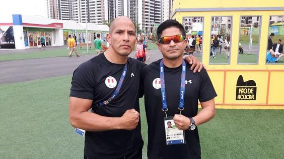 Former Peruvian soldiers ready to compete at Rio 2016 09.09.2016 Soldiers Carlos Cordova and Jose Luis Casas, who lost their left legs in battle, are part of Peru's team at the Paralympic Games - Carlos Cordova and Jose Luis Casas