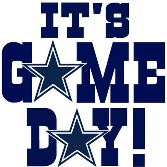 It's game day Dallas Cowboys