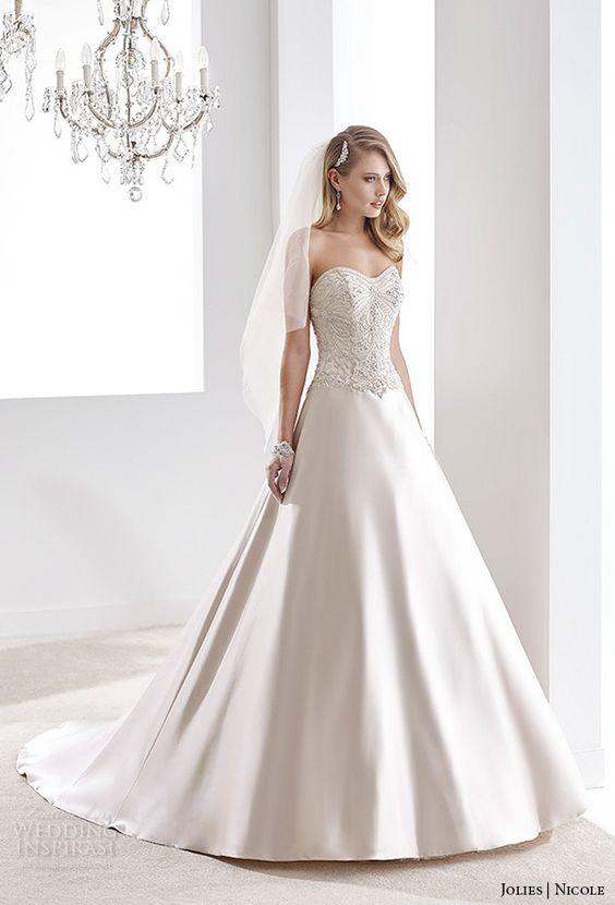 Nicole Jolies Collection 2016 — Colored Wedding Dresses   Wedding Inspirasi