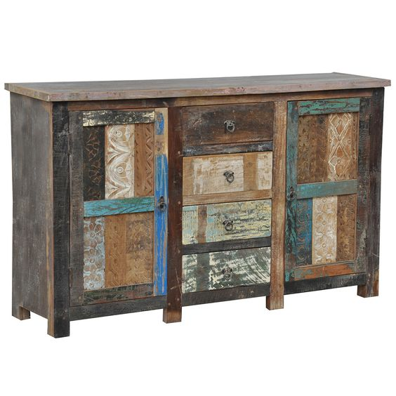 Bono Carved 2 Door/ 4 drawer Buffet | Overstock.com