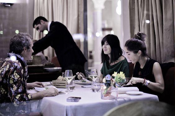 Déjeuner au restaurant