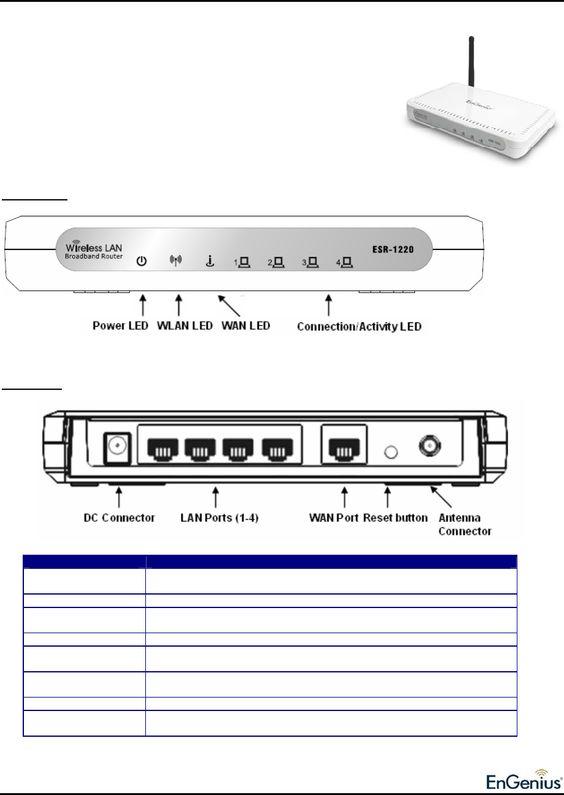 EnGenius ESR-1220 manual