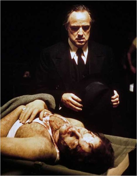 The Godfather, great performances by Marlon Brando and Al Pacino