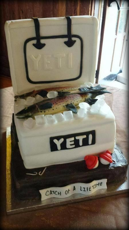 Catch of a Lifetime Groom's Cake by Angel Rushing