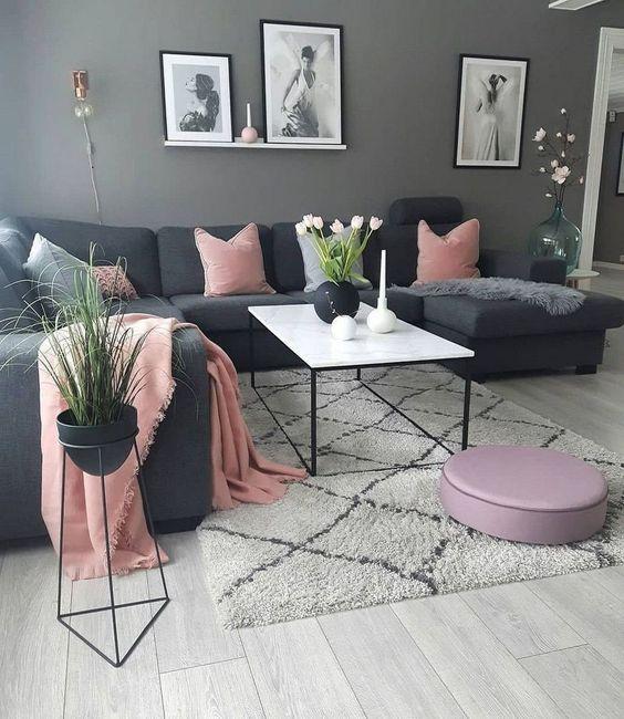 warna yang cocok dengan pink - pink dan abu