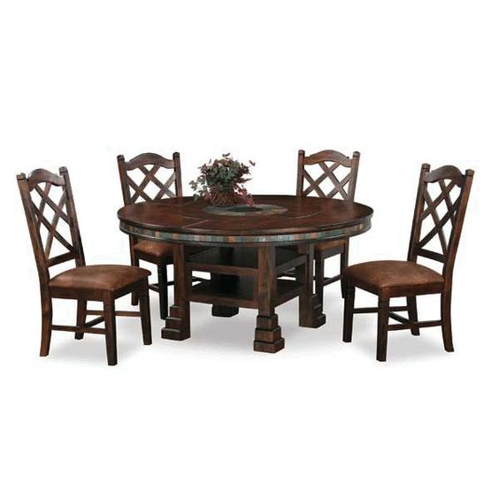 Dining sets warehouses and santa fe on pinterest for Dining room tables american furniture warehouse