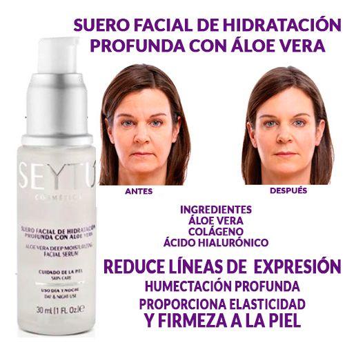 Suero Facial De Hidratación Profunda Contorno De Ojos Hidratacion Seytu Maquillaje
