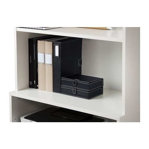 RISSLA Box, set of 3 IKEA Perfect for storing documents, receipts, newspaper clippings and pictures.