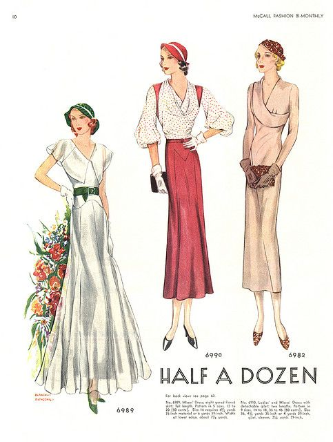 I think I need half a dozen of these in my wardrobe: Magasines Photos, Fashion 1930S, 1930S 1940S, 1930S Women, 1930S Everyday, 1930S Fashion, Vintage 1930S, 1930S Daywear, 1930S Dress