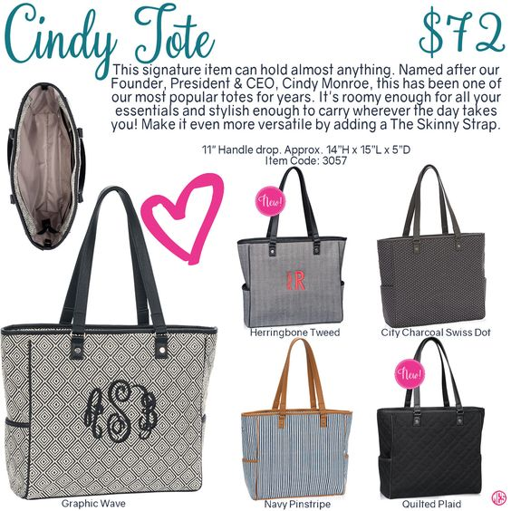 Cindy Tote By Thirty One Fall Winter 2016 Click To Order
