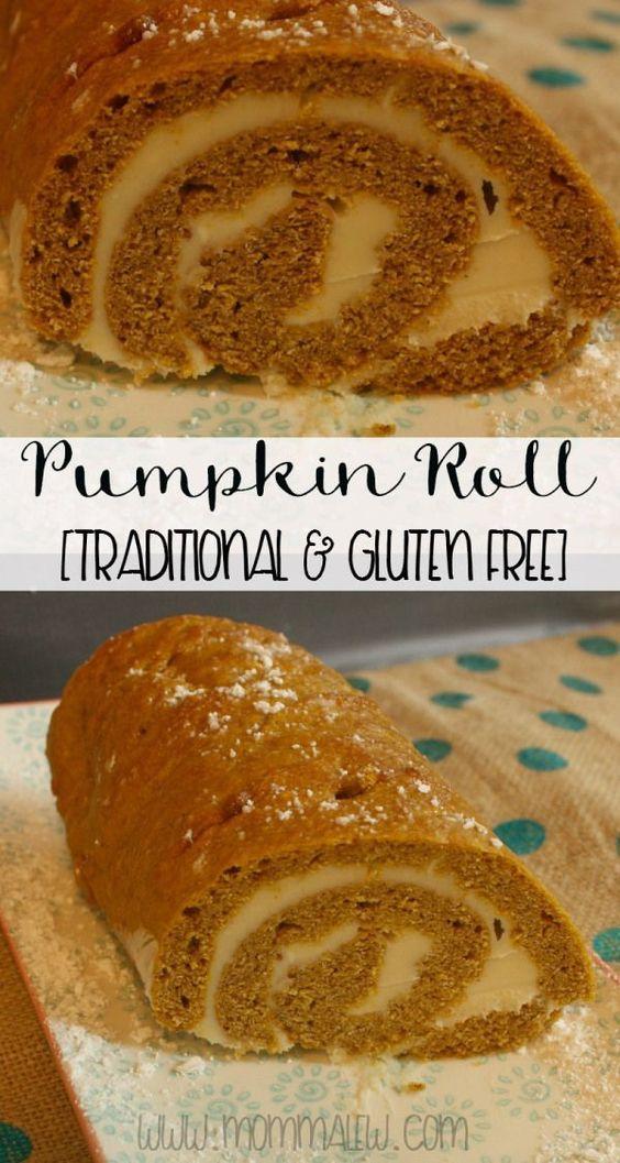 Easy gluten free pumpkin roll recipe