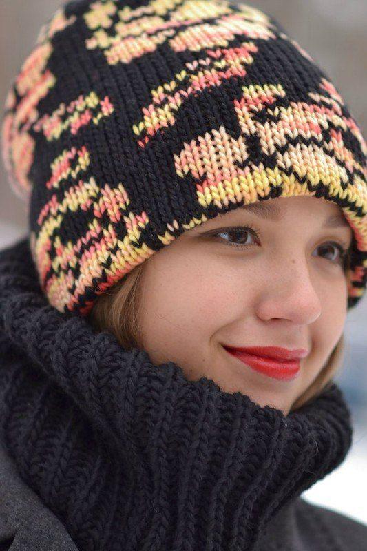 Дневник вязание шапочки