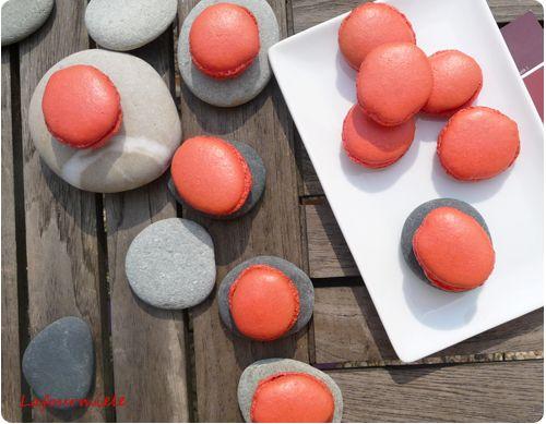 Macarons à la cerise - #macaron