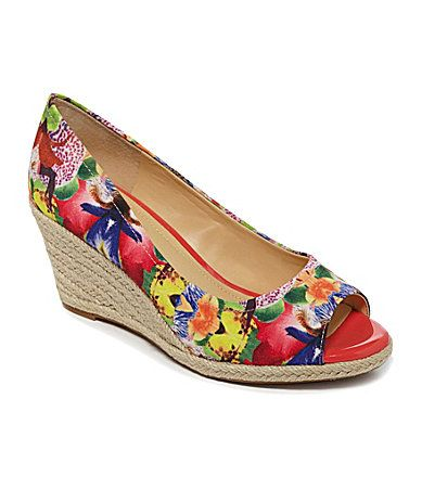 Alex Marie Addie Espadrille Wedges #Dillards