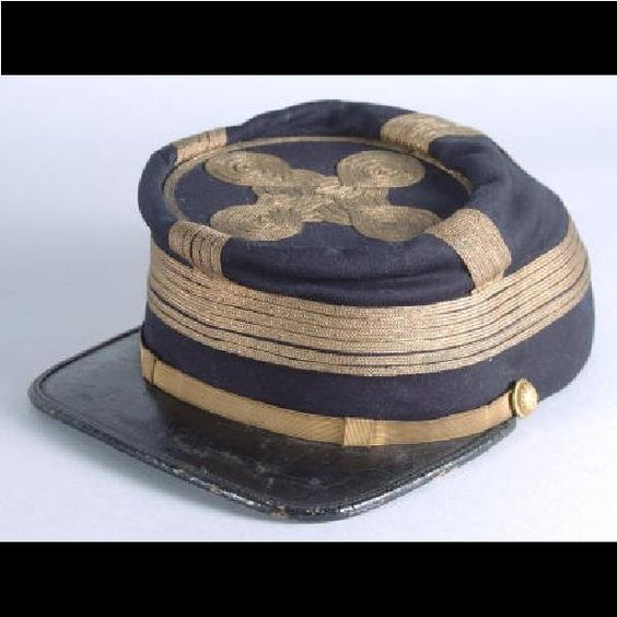 One of the finest known examples of a Union Army General's kepi. A superb and remarkably rare example of a Union Army General's kepi, attributed to General John Henry Hobart Ward worn during the Battle of Gettysburg.