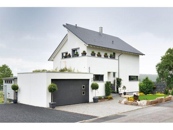 Blume - #Einfamilienhaus von Fertighaus Weiss GmbH | HausXXL ...