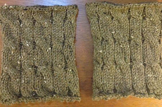 Ravelry: MK Variable Cable Boot Toppers pattern by L. Daniels