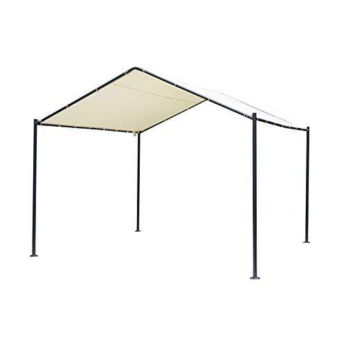 Outsunny 11 5 X 11 5 1 Car Carport Canopy Tent With Met Https Smile Amazon Com Dp B07ntgqc3d Ref Cm Sw R Pi Dp U Carport Canopy Carport Portable Carport
