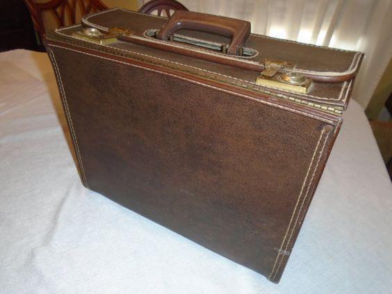 Vintage Vinyl Satchel Case by Montyhallsshowcase on Etsy