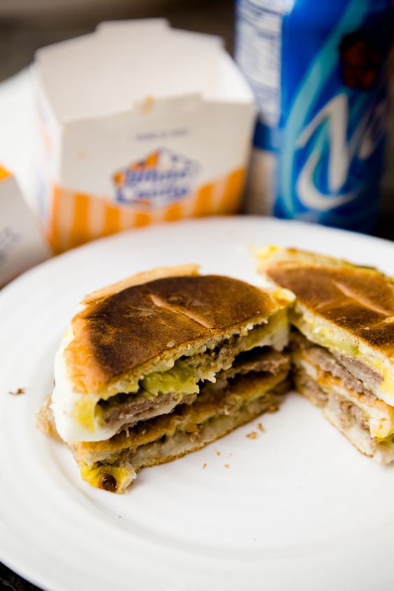 Egg Castle – An Extreme White Castle Breakfast Sandwich - from ...