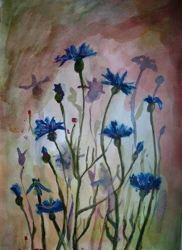 malarstwo akwarelowe kwiaty - Szukaj w Google
