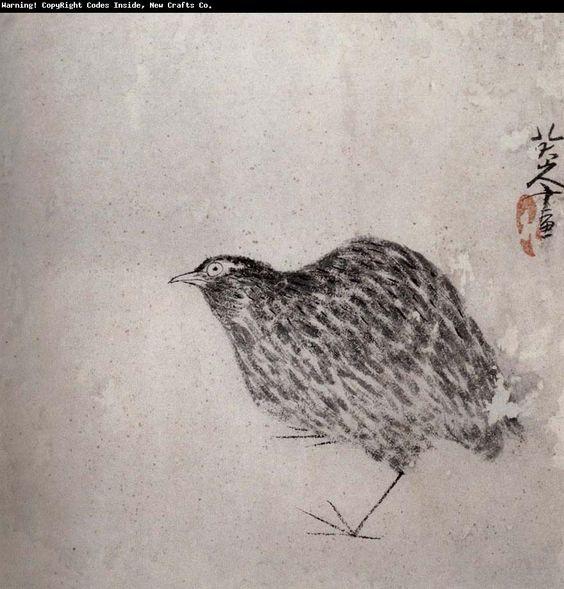 Zhu Da(朱耷,1626-1705):