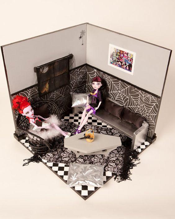 Monster High Furniture Sets And Monster High Dollhouse On Pinterest