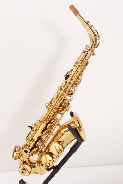 Click Image Above To Purchase: Used Yamaha 82z Series Custom Alto Saxophone Without High F# Yas-82zwof - Lacquer Finish Without High F# 886830454899