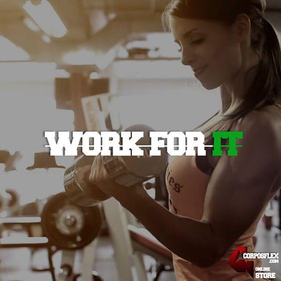 Work for it #motivational #corposflex #supplements #diet #gym http://www.corposflex.com/en/dymatize-super-multi-120-caps-multivitamin