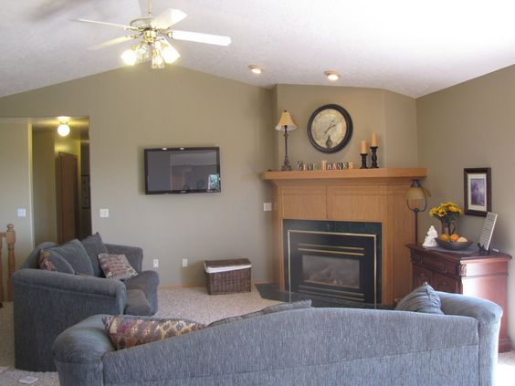 oak trim paint colors and paint on pinterest. Black Bedroom Furniture Sets. Home Design Ideas
