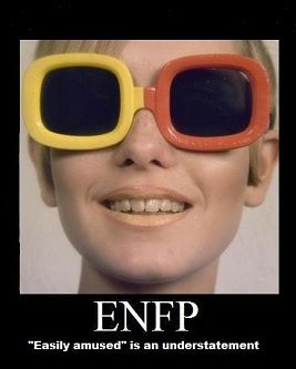 If I didn't already know I was ENFP, now I know for sure: