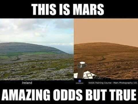 Image result for fake mars