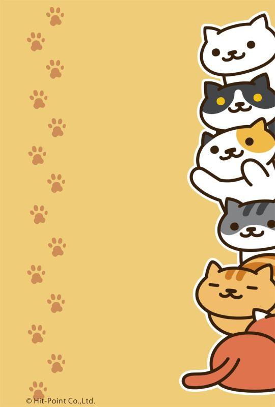 For All Your Cute Cat Cravings Neko Atsume Wallpaper Atsume Neko Atsume