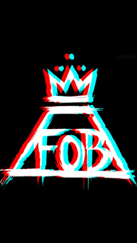 3D fall out boy symbol > could someone get 3D glasses and see if it works??