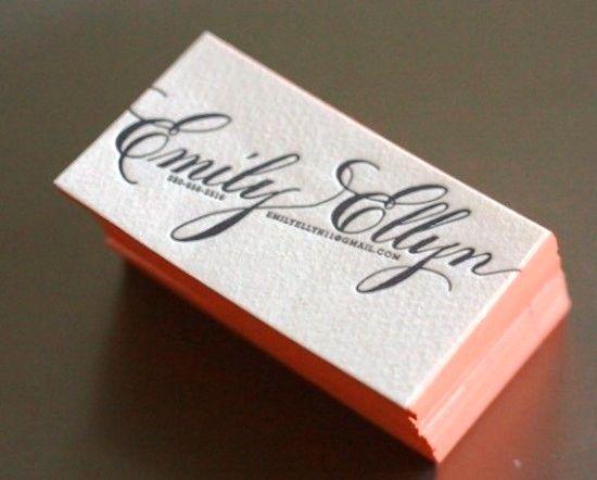 Beautiful, simple business card