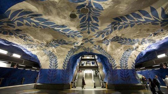 Las 10 estaciones de metro más bellas del mundo
