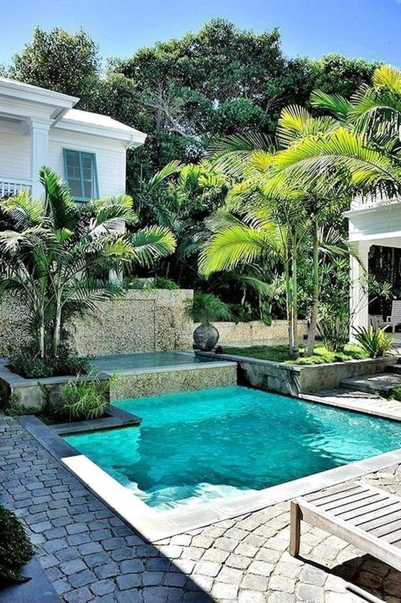 Inspiring Swimming Pool Inground Ideas That You Ll Love Backyard Pool Designs Cool Swimming Pools Small Pool Design