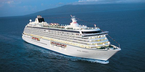 New Destination onboard the Crystal Serenity @crystalcruises #crystalcruises #luxury #cruising