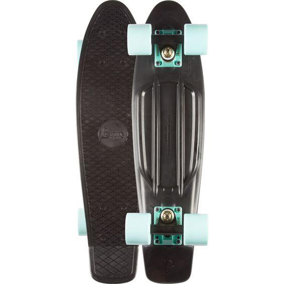 Penny Penny Skateboards Penny Plastic Injection Moulded Skateboards -... ❤ liked on Polyvore