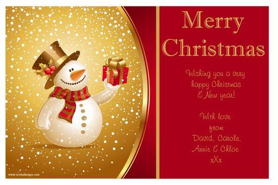 christmas card template - Google 検索 くりすます、クリスマス - christmas card layout