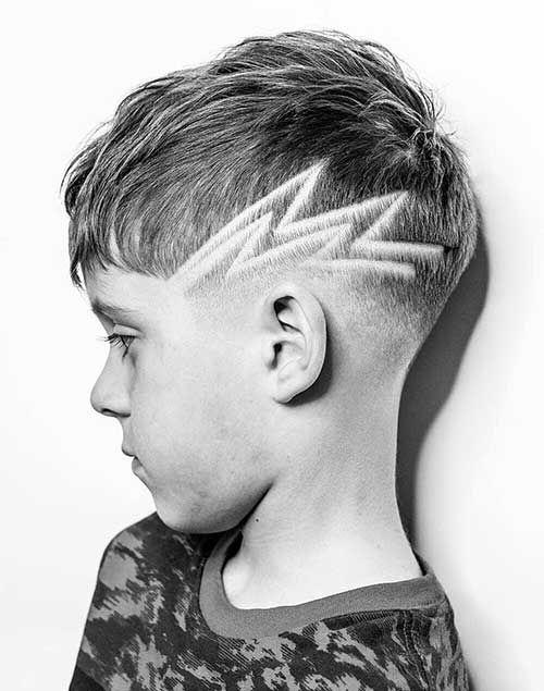 The Flash Haircut for Boys