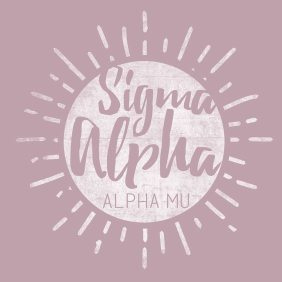 Sigma Alpha Hand Drawn Sun Design by College Hill Custom Threads sorority and fraternity greek apparel and products! Customize this design for your chapter today.