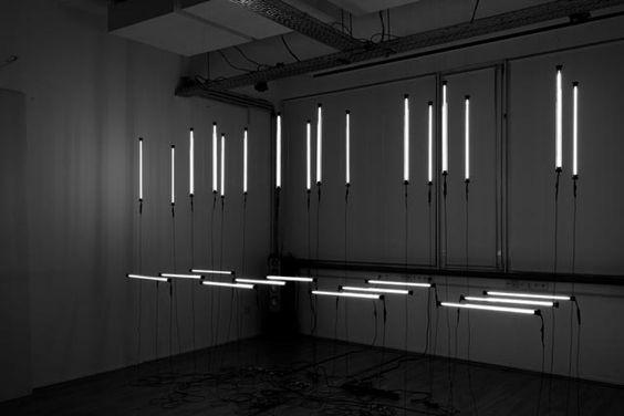 CL:OC Kinetic Lighting Installation: A Dance in Tubes of Light