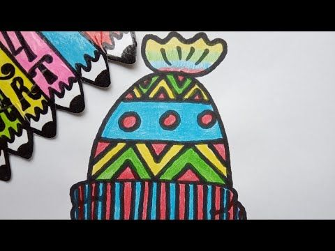 Risuem Shapku Risunki Dlya Detej How To Draw A Hat Drawings For Children Youtube Art For Kids Drawings Make It Yourself