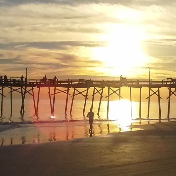 Sunset Atlantic Beach NC