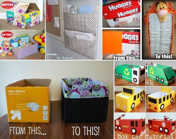 What To Do With Old Diaper Boxes?
